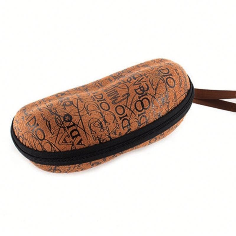 Free sample eva custom hard eva sun glasses case oem folding