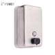 Wholesale hotel soap dispensers liquid price wall metal elbow pouches stainless steel