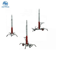 Mobile Lighting Tower Mast