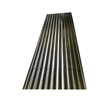 Cheap price galvanized corrugated steel sheet plate zinc roofing metal for house container