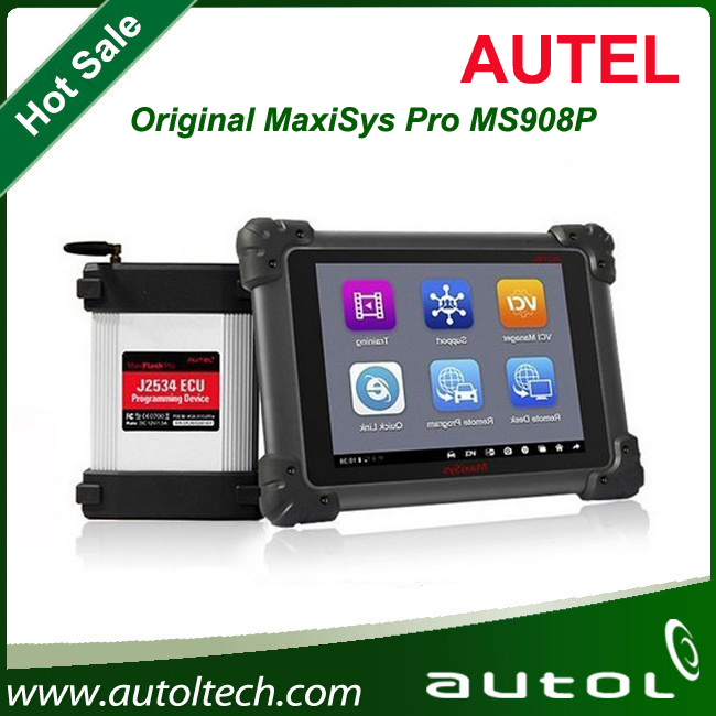 2016 Best Newly Almost All Cars Diagnostic Wireless AUTEL MS908 Pro Autel Maxisys Pro MS908P With Automatic Wi-Fi updates