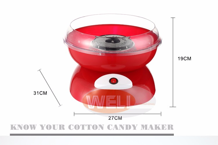 371210 NINGBO 750W Carnival household cottton candy maker candy floss machine Kid cotton vending machine