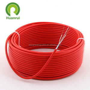 outdoor ground surface heating and defrosting serial constant wattage underground heating cable