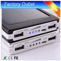 low price solar cellphone battery charger 10000mah for smartphone and digitals products