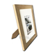 A4 Wood Photo Frame with White Mat Board