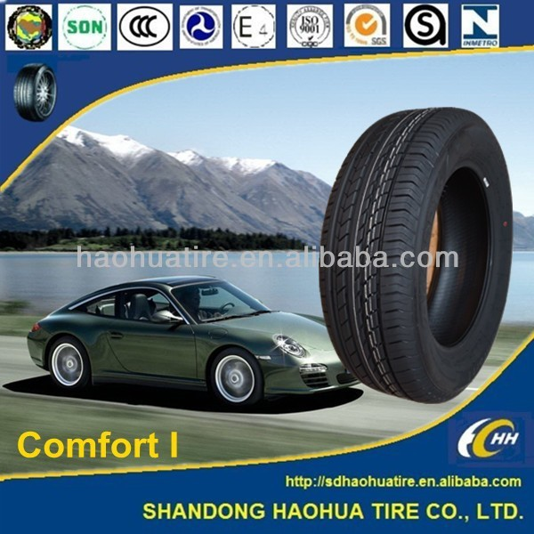 china famous brand new radial passenger car tyre with certificate dot ece iso white wall tire
