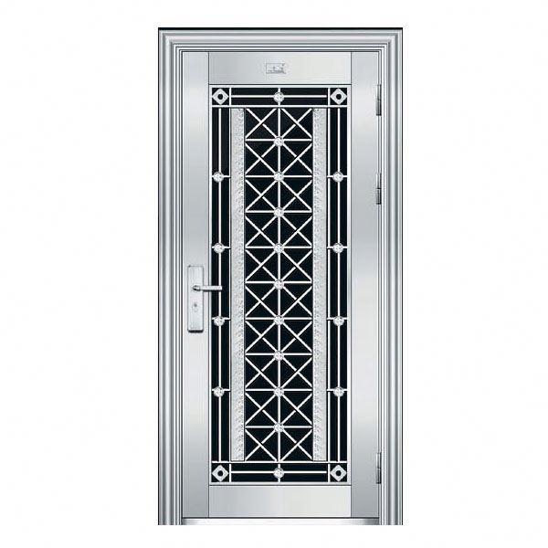 Emejing steel door designs for home pictures decoration for Ss door design