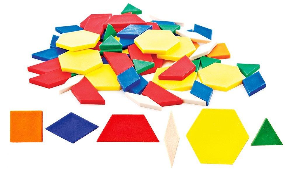 Carson-Dellosa Thinking Kids' Math Pattern Blocks
