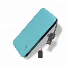 Amazing quality factory price free sample 9000mah leather power bank best selling products
