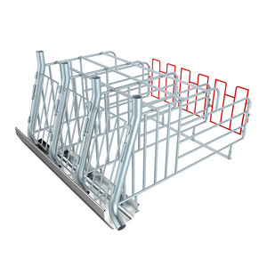 Manufacture strong and no rusting hot dip galvanized piglet breed cage