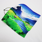 Eco Friendly Microfiber Glasses Cleaning Cloth Customized cloth