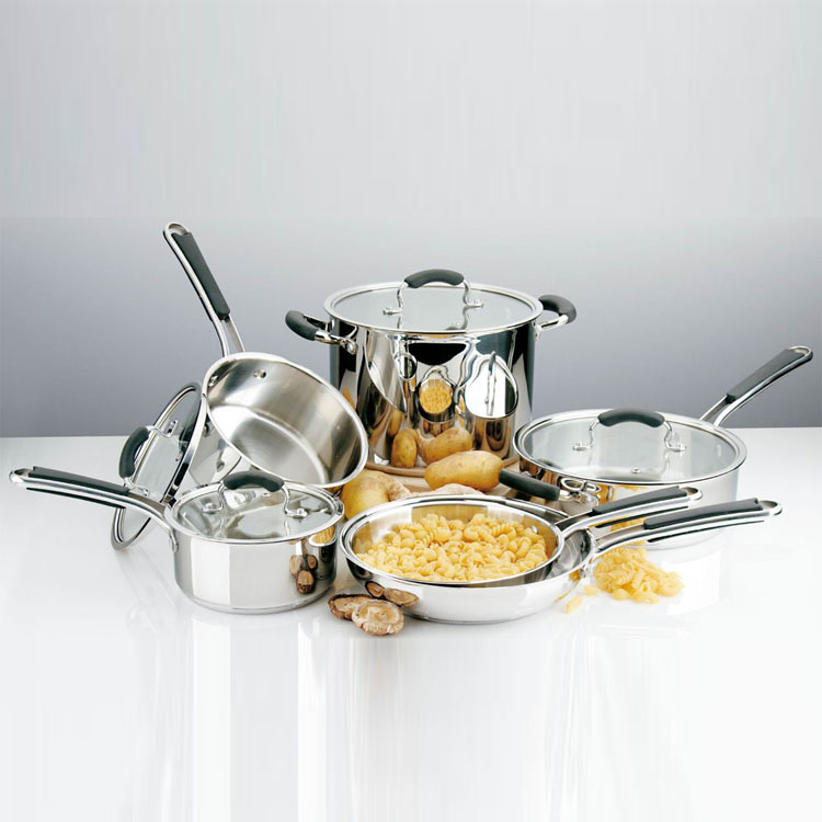 High Performance Stainless Steel Cookware Set