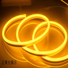 AC12/24V rgb mutil color flex LED neon lighting strip silicone tube with CE RoHS certificate