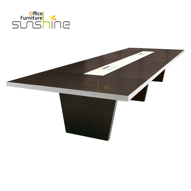 High quality 4.2m Wooden Conference Table for 12-14 Person
