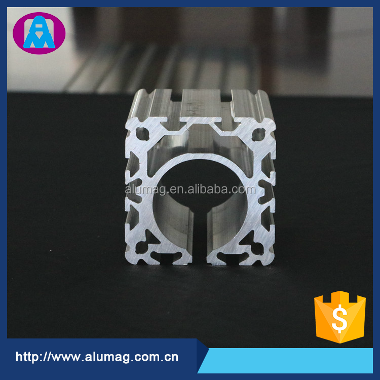 New product square shape aluminum extrusion profile for sale