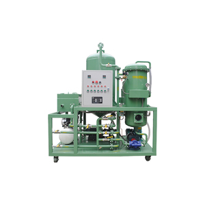 Waste treatment machine oil purifier/ black lube oil decolor plant