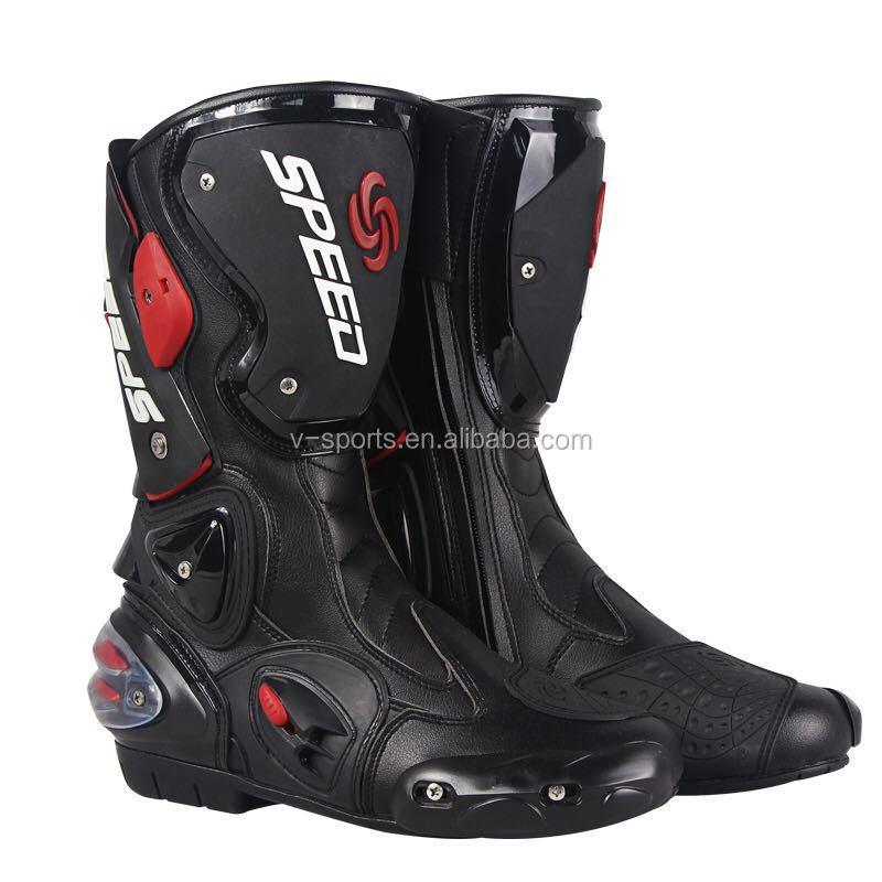 Schutzausrüstung Reiten Tribe Motorrad Männer Der Frauen Stiefeletten Motorrad Reiten Schutz Nicht-slip Atmungs Off-road Moto Racing Schuhe A005