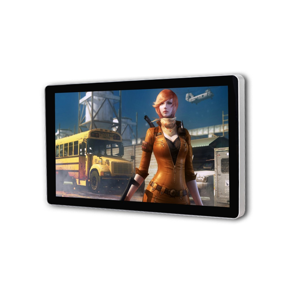 Wall Mount LCD Network Advertising Monitor 22 Inch