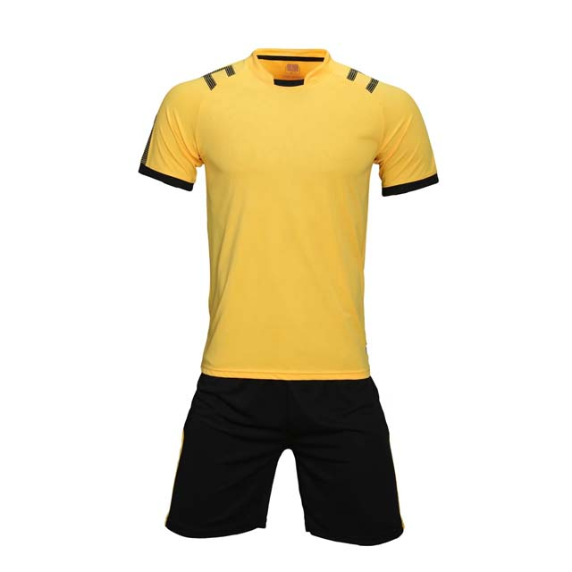 En gros top qualité pas cher football jersey uniforme ensemble made in china