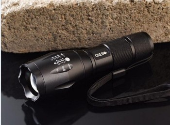 G700 X800 Xml T6 Led Tactical Flashlight Torch Zoom Super Bright ...