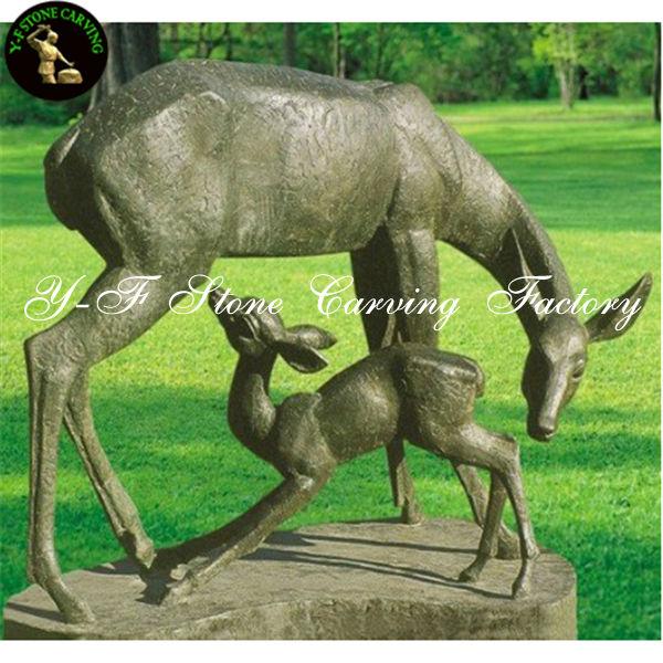 Bronze Or Brass Deer Statue For Garden Sculpture   Buy Bronze Deer Statue,Bronze  Deer Statue,Bronze Deer Statue Product On Alibaba.com