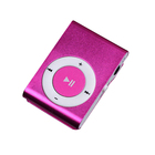 Factory Directly Selling Mini Metal Clip Running MP3 Player Sport Fashion Music Player + Earphone + USB Cable
