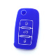 Japan Remote Control Car Psrts Accessories Protect Silicone Key Cases 3 Button for VW