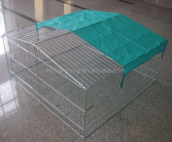 Factory outdoor Comfortable galvanized dog enclosure