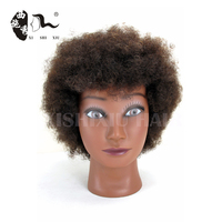 wholesale top quality african american afro black training mannequin head