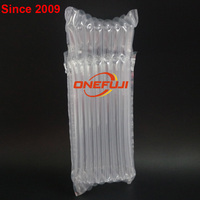 Wholesale air column bag air cushion plastic packing bag Good perfomance cushion air column bag for Glass honey bottle