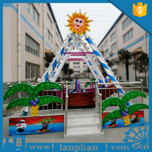 Portable Amusement Ride Small Pirate Ship for Sale