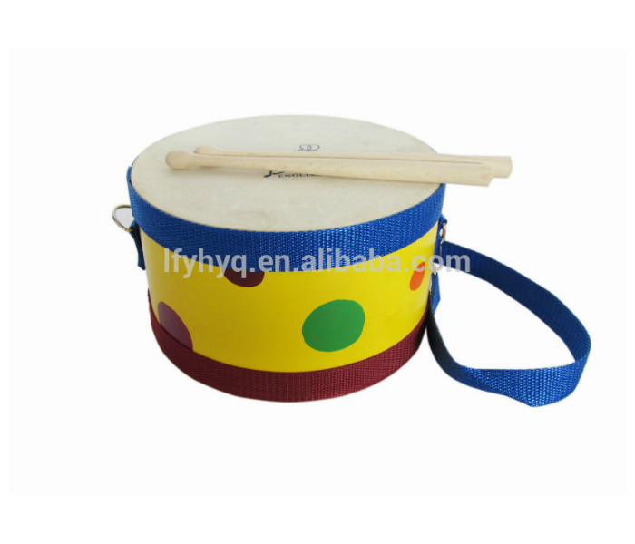 cheap china children Musical instruments toy junior marching drum heads children marchingwooden bass Marching band snare drum