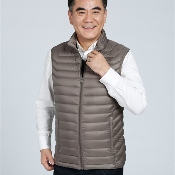 Sleeveless vest jacket mens down jacket for the winter