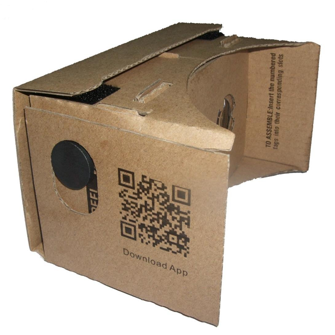Coper ®DIY Cardboard Valencia Quality 3D TV Video Virtual Reality Glasses FOR Google