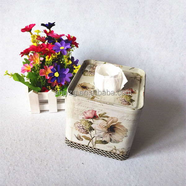 Square Shaped Excellent Design Toilet Paper Tissue Box Supplier in China