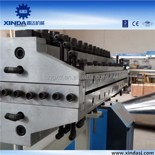 pvc form board machine