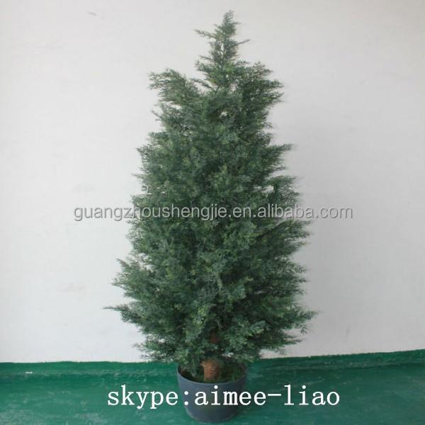 Q120879 Cheap Artificial Thuja Plants Ornamental Plastic Bonsai ...