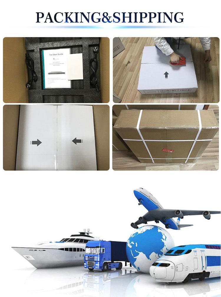1550nm External Modulation fiber Optical Transmitter FWT-1550ES-2x7dBm