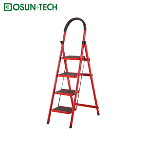 home use portable 5 step cheap iron ladder
