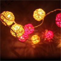 Cotton Ball String Lights Pig Planet Mixed Colour For Indoor ...