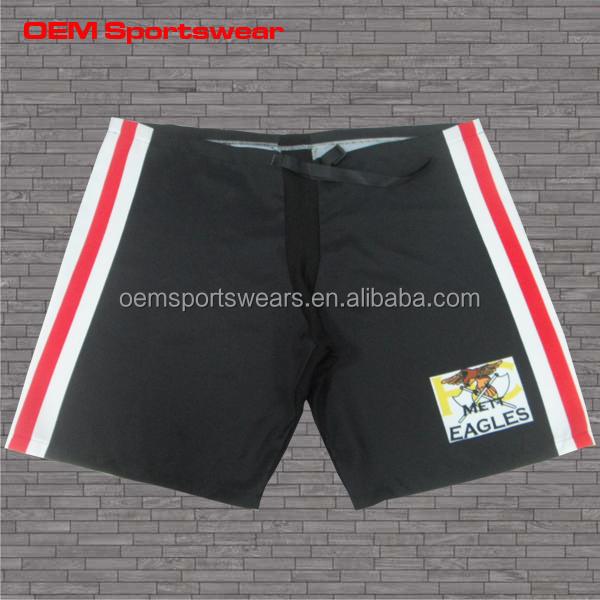 China Supplier Sublimate Custom Hockey Pants Shell