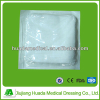 manufacturer direct supply x-ray detectable absorbent gauze swabs sterile pack