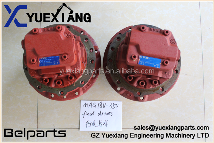 Belparets excavator final drive MAG18VP-350F KX101 323J ZX27U-2 VIO30 EX22 Travel Motor for MAG18VP