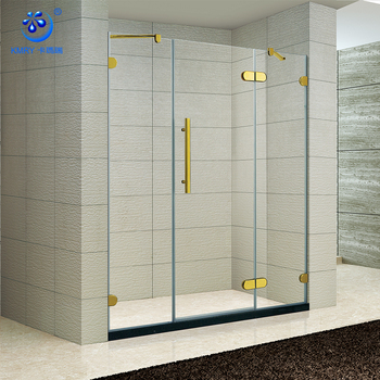 Superieur 2 Fixed Bracket Door Hinge Tempered Glass Bath Shower Screens(KD3303)