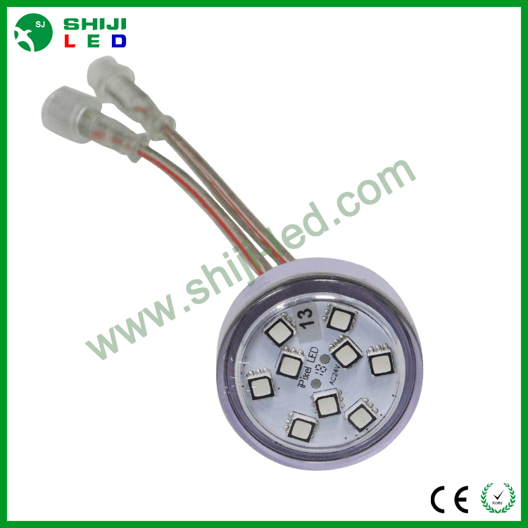 waterproof automatical 5050 rgb led funfair light ac24v