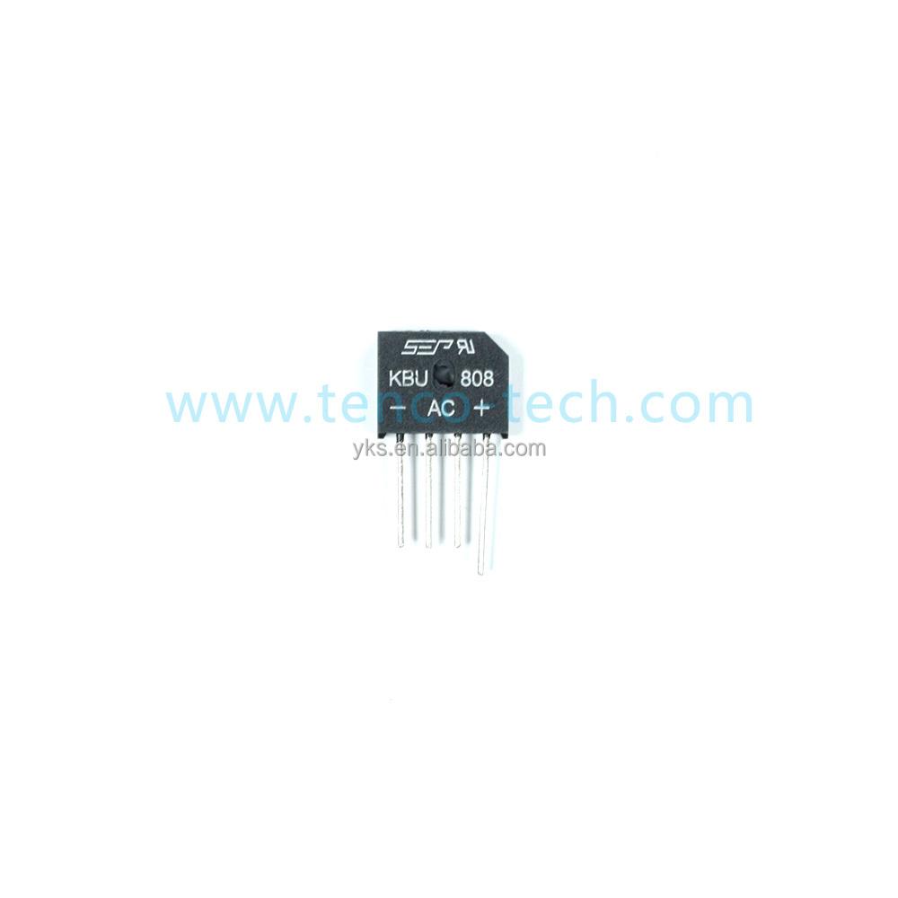 4A 600V 8A 800V Bridge Rectifier GBU406 808 Glass Passivated Silicon Diode GBU