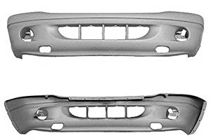 Crash Parts Plus Front Bumper Cover for Dodge Dakota, Durango CH1000349