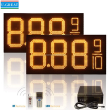 12inch LED Gas Station Sign / Gas Station LED Price Display