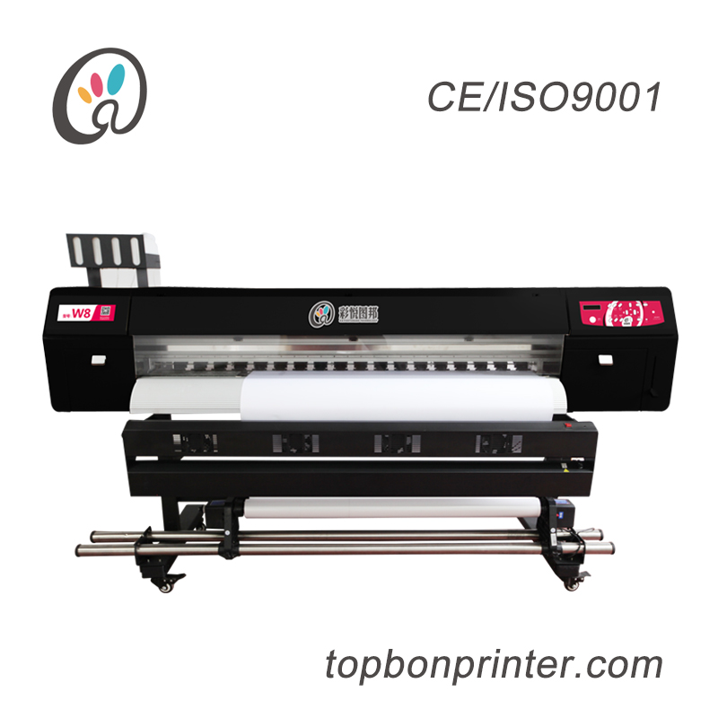 3.2 Meters Eco Solvent Printer with 4 DX5 Print Heads