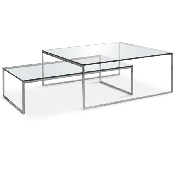 moderno marco cromado café muebles de tienda de ahorrar espacio de ...